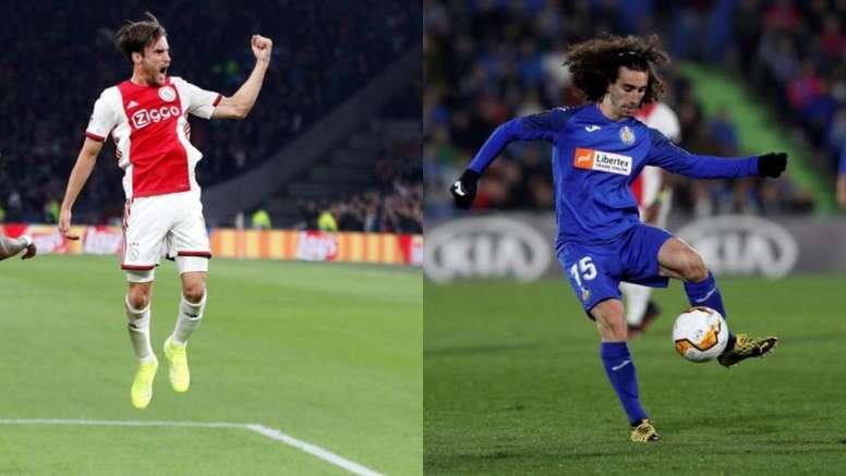El Chelsea evalúa dos opciones para su lateral izquierdo. AFP/EFE