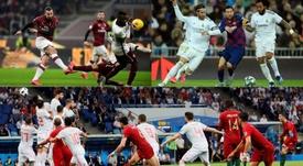 Los mejores partidos de fútbol en octubre. EFE - AFP