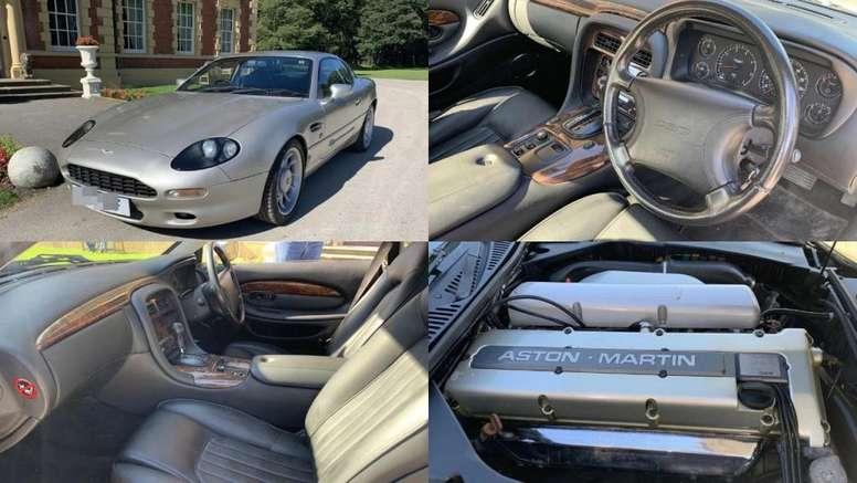 Así era el lujoso Aston Martin que adquirió Roy Keane tras el triplete. Press Association