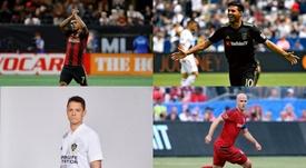 Os jogadores que mais ganham na MLS. EFE/MLS