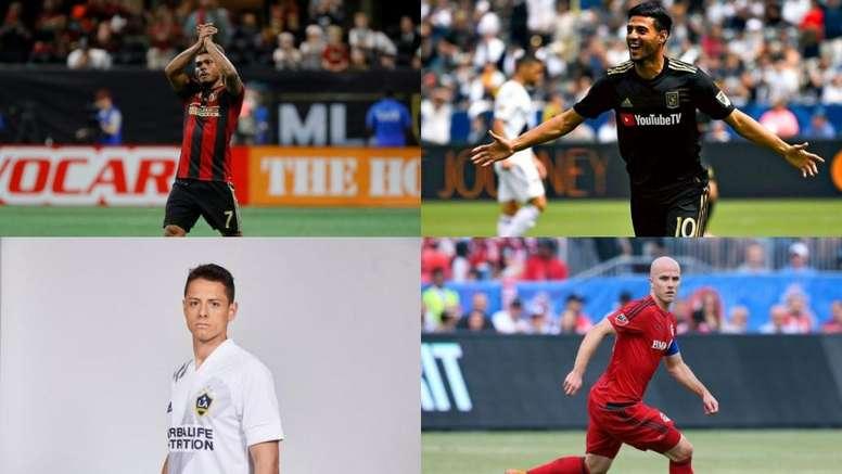 Les joueurs qui gagnent le plus d'argent en MLS. EFE/MLS