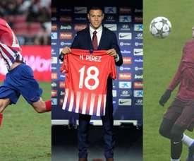 Mollejo, Caio Henrique e Nehuén Pérez são opções para voltarem ao Atlético. EFE/AtléticodeMadrid