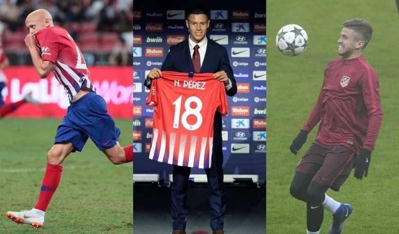 Simeone tiene dónde mirar. EFE/AtléticodeMadrid