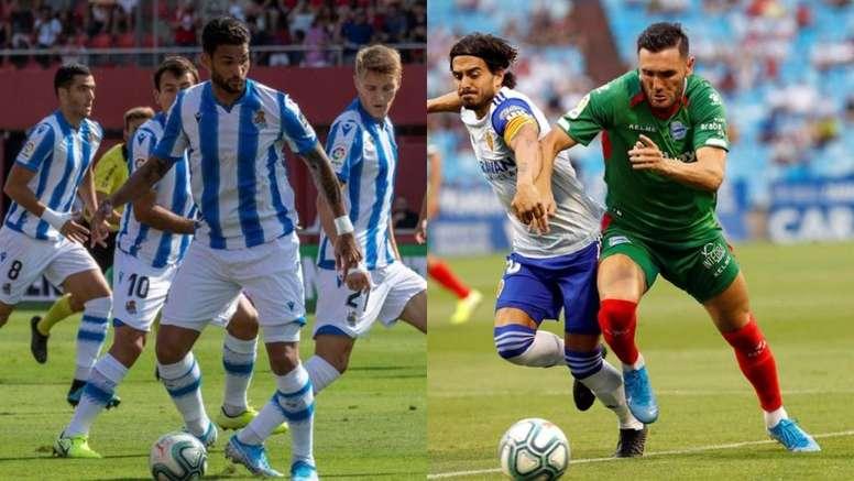 Willian José et Lucas Pérez, priorités du Barça pour l'attaque. EFE