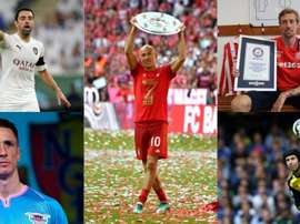 L'énorme XI des joueurs qui ont pris leur retraite en 2019. EFE-AFP