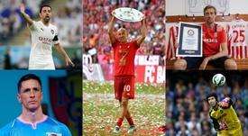 Las 15 estrellas que se retiraron en 2019. EFE-AFP