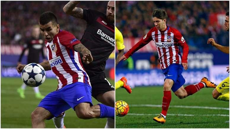 Correa y Vietto formarán el ataque de Simeone ante Las Palmas. ClubAtléticodeMadrid