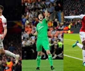 Debandada no Arsenal: sete saídas. AFP/EFE