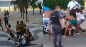 Muere el hincha herido en la pelea entre Flamengo y Peñarol de 2019. Capturas/JogoExtra