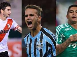 Los jugadores que darán brillo a la Copa Libertadores. BeSoccer