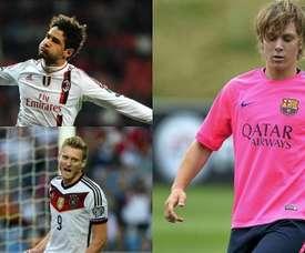 10 jogadores que eram apontados como grandes estrelas. Montagem/EFE/AFP