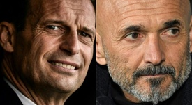 Allegri and Spalletti are in the running to become Napoli manager. AFP