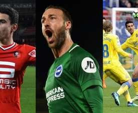 Estos son algunos de los jugadores que cometieron más faltas hasta el parón. EFE/AFP