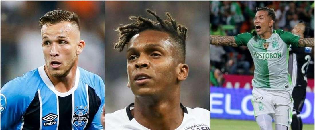 Les footballeurs du moment en Amérique latine. BeSoccer