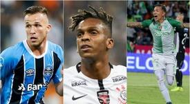 Arthur, Jô e Dayro Moreno foram alguns dos destaques de 2017. BeSoccer