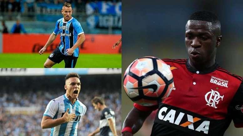 Las jóvenes promesas de esta edición de la Libertadores. BeSoccer