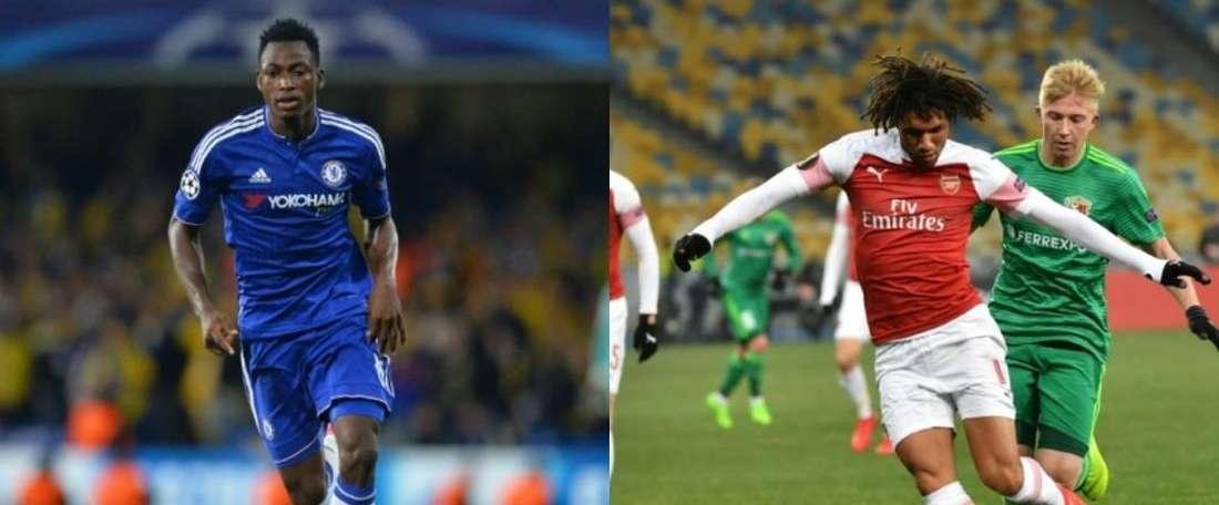 Elneny et Baba Rahman dans les petits papiers de l'AC Milan. AFP