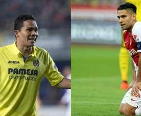 Bacca y Falcao acabaron lesionados. EFE/AFP