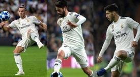 Isco, Bale y Asensio deben dar un paso adelante. BeSoccer