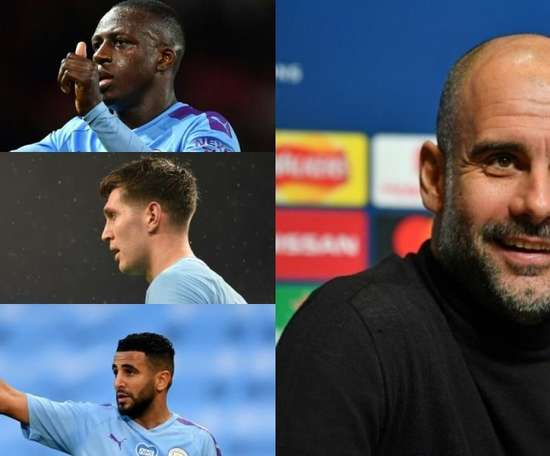 Top 10 jogadores mais caros do City de Guardiola. AFP