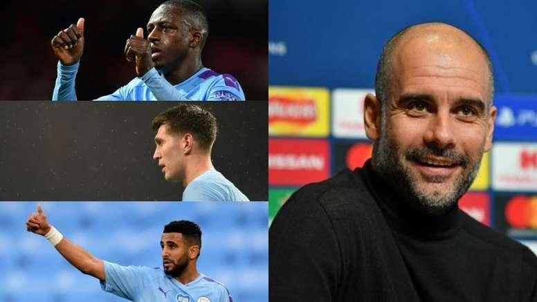 Top 10 jogadores mais caros do City de Guardiola. AFP