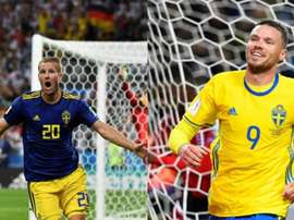 Berg y Toivonen empezaron juntos en Suecia. AFP