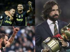 Juventus hope to get rid of some players. Montage/EFE/AFP