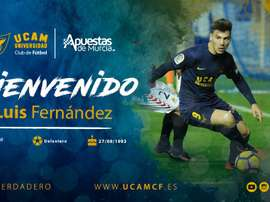 Luis Fernández militó previamente en el equipo murciano. UCAM