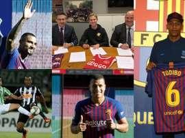 O Barça agitou o mercado. EFE