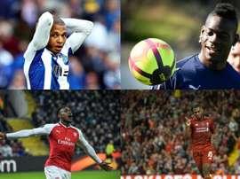 Jogadores a custo zero. EFE/AFP