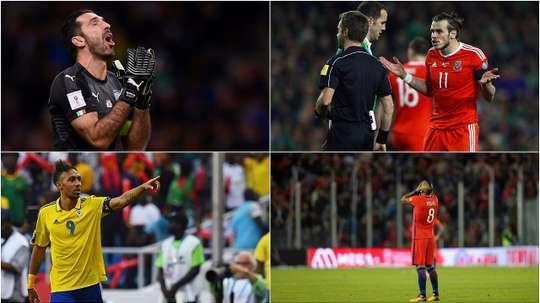 Buffon, Bale, Aubameyang and Vidal will not be at the World Cup next summer. BeSoccer