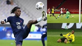 Los Sub 19 llamados a brillar en el Europeo: Camavinga, Brobbey, Moukoko... AFP