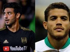 Réunir Vela et Dos Santos, l'objectif du club América. EFE