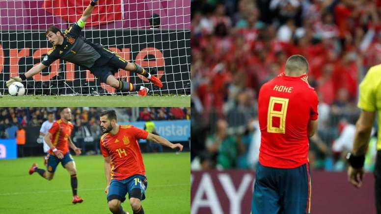 Casillas, Koke and Nacho have all missed out. BeSoccer
