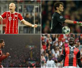 Robben, Casillas, Can and Balotelli are all free transfers. BeSoccer/EFE/AFP