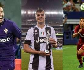 La Serie A contará con muchos jóvenes prometedores. AFP