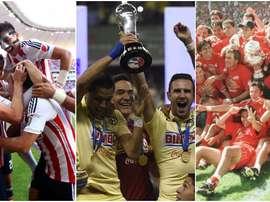 Los equipos con más puntos de México. BeSoccer
