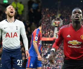 Pogba ou Eriksen, telle est la question. AFP