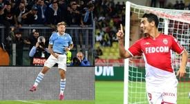 Immobile y Ben Yedder, 'Pichichis' en la Serie A y en la Ligue 1, respectivamente. AFP