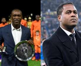 Seedorf y Kluivert toman el mando de Camerún. AFP