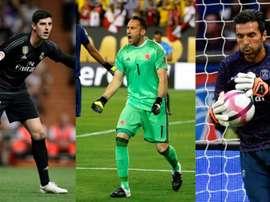 Courtois, Ospina o Buffon son sólo algunos de ellos. AFP