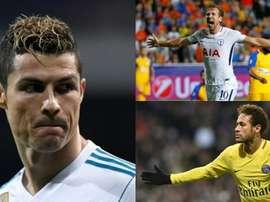 La Ligue des champions revient, et avec elle, les meilleurs buteurs. AFP