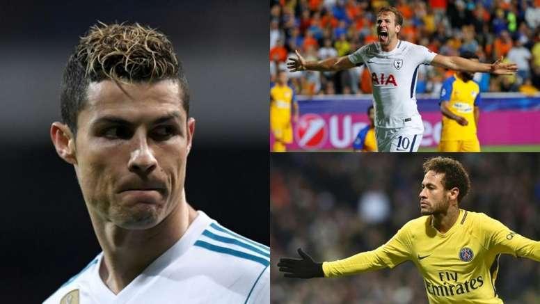 Vuelve la Champions y con ella, los mejores goleadores. AFP