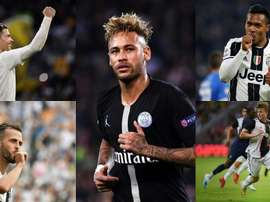 L'XI di più di 600 milioni che formerebbe la Juve con Neymar. EFE/AFP