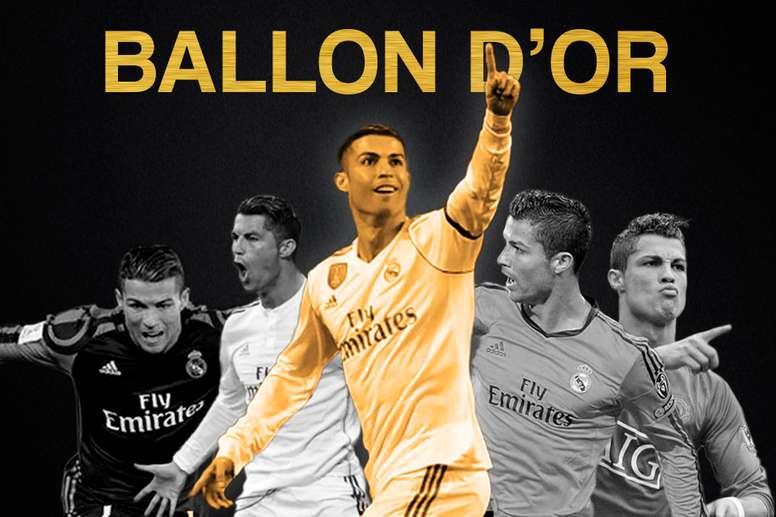 Cristiano Ronaldo est sur le toit du monde. BeSoccer
