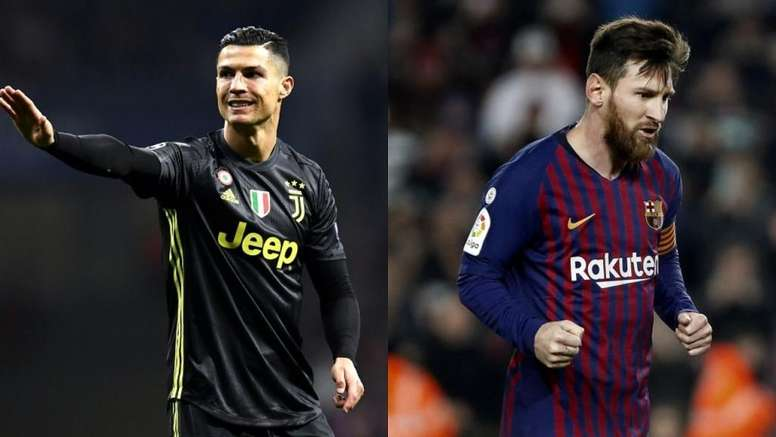 Ronaldo and Messi could meet in the final. Montaje/BeSoccer