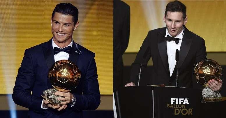 Pas de Ballon d'Or pour Messi ou Cristiano ? EFE/BeSoccer