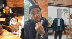 Dani Alves se envolveu em polêmica com festa e imagens nas redes sociais. Twitter/DaniAlvesD2