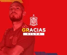 Silva también dice adiós a España. RFEF
