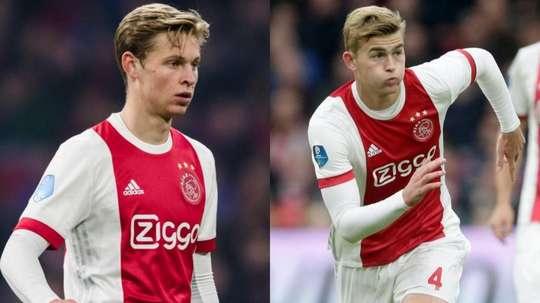 Le futur des deux Hollandais reste encore inconnu. AFP